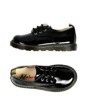 Обувь на шнурках NATURINO. Цвет: черный