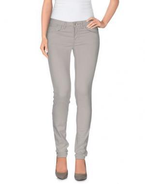 Повседневные брюки HAIKURE. Цвет: светло-серый