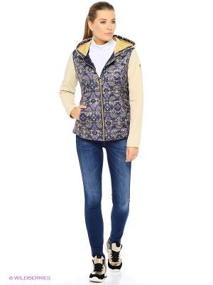 Куртка Stayer. Цвет: бежевый, золотистый, зеленый, коричневый, фиолетовый