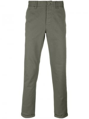 Classic chinos Norse Projects. Цвет: зелёный