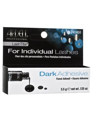 Ardell Клей для пучков темный, 3.5 г. Цвет: черный