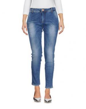 Джинсовые брюки DIRTYPAGE. Цвет: синий