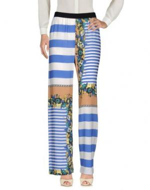 Повседневные брюки DV ROMA. Цвет: синий