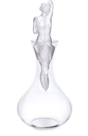 Декантер Aphrodite Lalique. Цвет: прозрачный