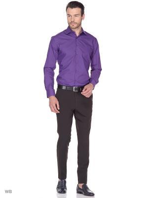 Рубашка Fayzoff-SA. Цвет: фиолетовый