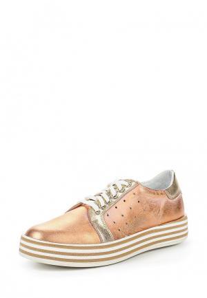 Ботинки Simen. Цвет: золотой