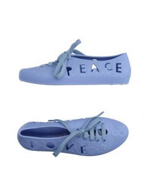 Обувь на шнурках F-TROUPE. Цвет: сиреневый