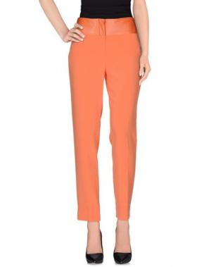 Повседневные брюки FONTANA COUTURE. Цвет: оранжевый