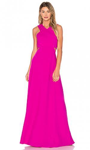 Вечернее платье с подкладкой JILL STUART. Цвет: фуксия