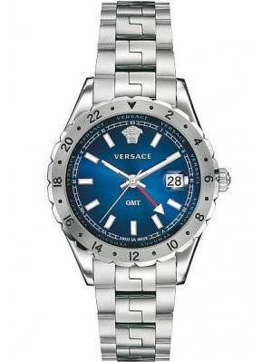Часы Versace. Цвет: синий, серебристый
