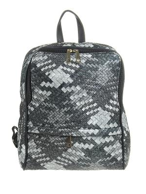 Рюкзак Olere. Цвет: черный, серый, белый
