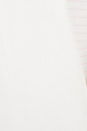 Хлопковый жакет VIKTORIA IRBAIEVA. Цвет: белый