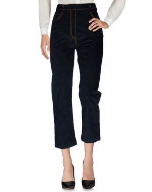 Повседневные брюки ISA ARFEN. Цвет: темно-синий