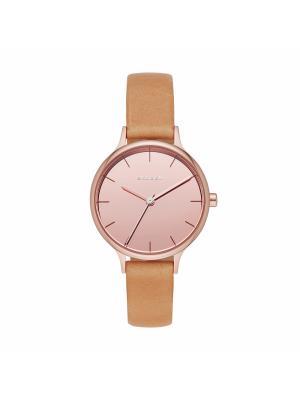Часы SKAGEN. Цвет: розовый, светло-оранжевый