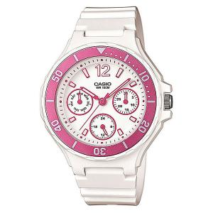 Часы  Collection Lrw-250h-4a White/Pink Casio. Цвет: белый,розовый