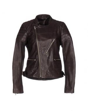 Куртка BLK DNM. Цвет: баклажанный