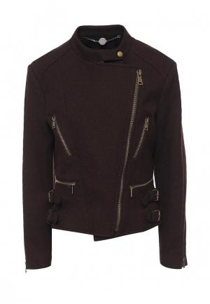 Куртка Levall. Цвет: коричневый