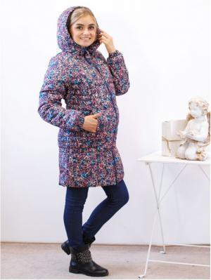 Куртка Адель. Цвет: синий, темно-синий