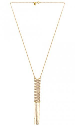 Ожерелье paris Vanessa Mooney. Цвет: металлический золотой