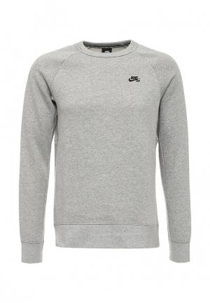 Свитшот Nike. Цвет: серый