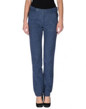 Повседневные брюки ORIGINAL VINTAGE STYLE. Цвет: синий