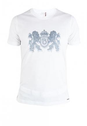 Футболка BILANCIONI. Цвет: белый