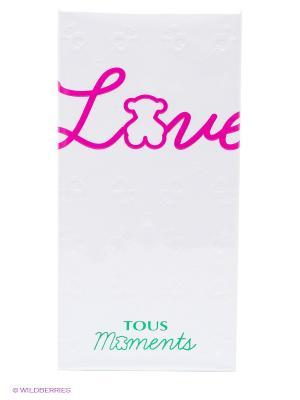 Tous Love Moments Туалетная вода 90 мл. Цвет: прозрачный