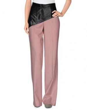 Повседневные брюки GOOD ON HEELS. Цвет: пастельно-розовый