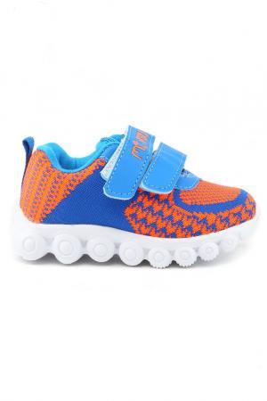 Кроссовки MURSU. Цвет: оранжевый, синий