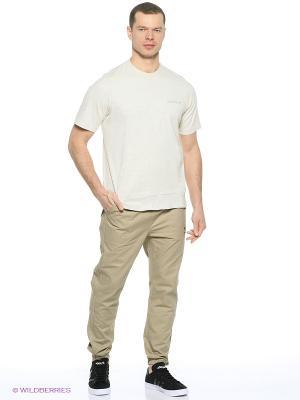 Брюки Str Ess Jogger Adidas. Цвет: бежевый