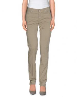 Повседневные брюки NICHOL JUDD. Цвет: серый