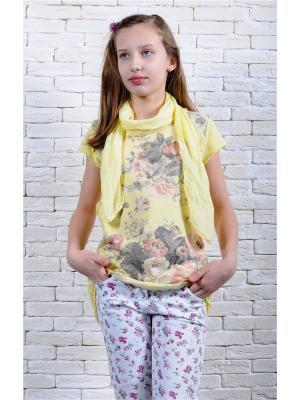 Кофточка ZEBRA KIDS. Цвет: желтый