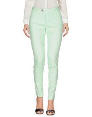 Повседневные брюки BONHEUR. Цвет: светло-зеленый