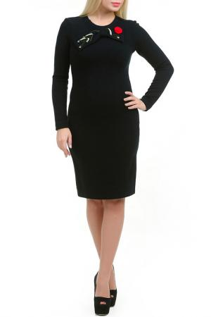 Платье Роузи LESYA. Цвет: черный