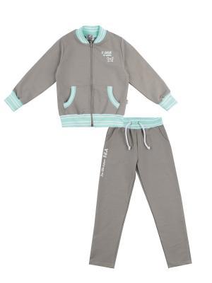Кофта, брюки, коллекция Открытое море Апрель. Цвет: бежевый
