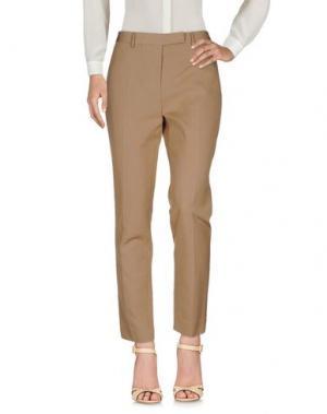 Повседневные брюки JO NO FUI. Цвет: верблюжий