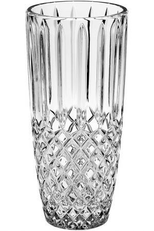 Ваза, 27 см Crystalite Bohemia. Цвет: прозрачный