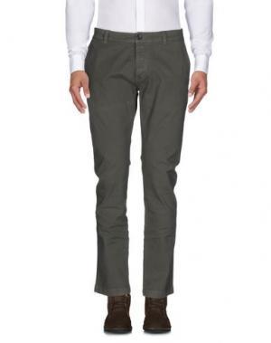Повседневные брюки BRIAN DALES. Цвет: темно-зеленый