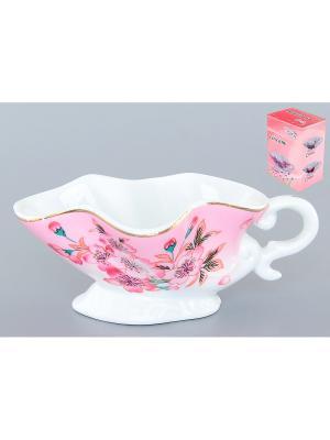 Соусник Сакура Elan Gallery. Цвет: розовый, белый