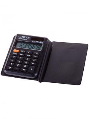 Калькулятор настольный Correct D 14 разрядов, двойное питание, 155*205*28 мм, черный CITIZEN. Цвет: черный