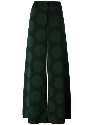 Широкие расклешенные брюки McQ Alexander McQueen. Цвет: чёрный