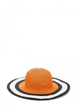 Шляпа Fete. Цвет: оранжевый