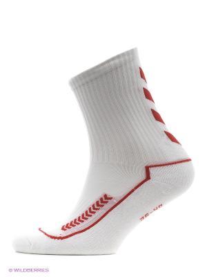 Носки ADVANCED INDOOR SOCK LOW HUMMEL. Цвет: белый, красный