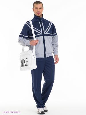 Спортивный костюм ADDIC. Цвет: темно-синий, серый