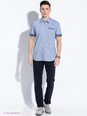 Рубашка LERROS. Цвет: синий, голубой