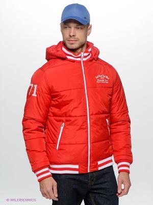 Куртка Fresh. Цвет: красный