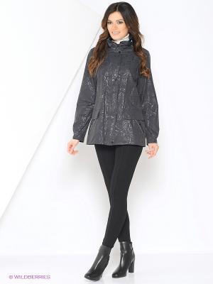 Куртка NANCY Maritta. Цвет: антрацитовый