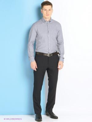 Рубашка Trussardi. Цвет: темно-синий