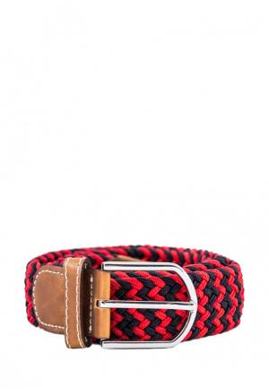 Ремень Churchill accessories. Цвет: красный