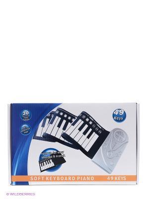 Пианино гибкое СИМФОНИЯ BRADEX. Цвет: белый